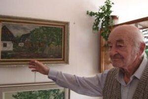 Veľkou záľubou profesora Krajčoviča bolo aj výtvarné umenie.