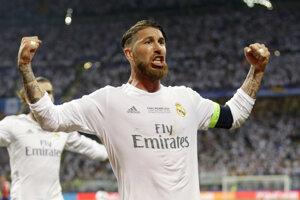 Kapitán Realu Madrid Sergio Ramos.