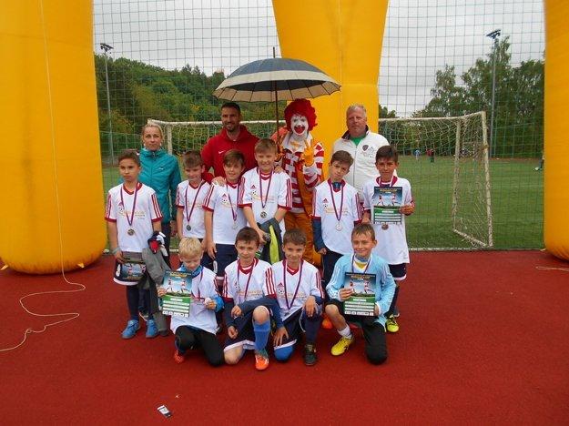 Druhí skončili chlapci z Dubnice.
