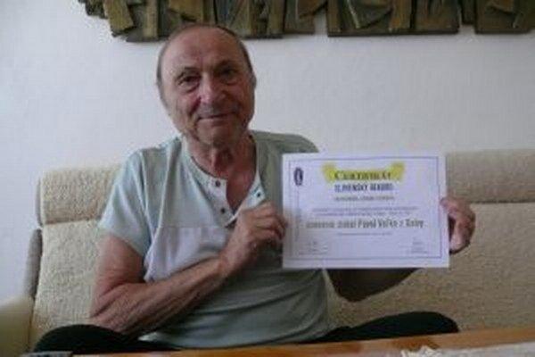 Rekord má Pavol Vaľko potvrdený.