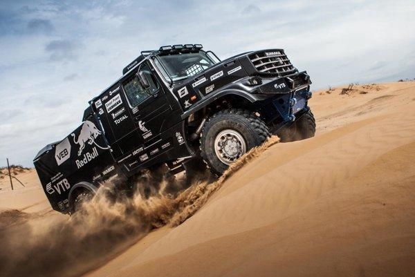 Nový Kamaz Master určený na rally Dakar 2017