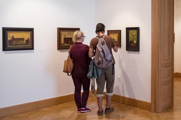 Výstava v galérii potrvá do 19. júna.