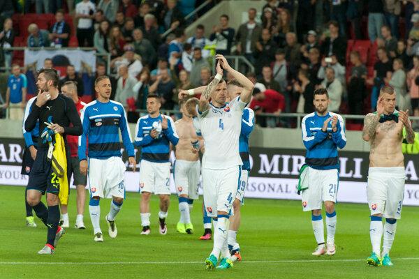 Slovenskí reprezentanti sa pred Majstrovstvami Európy rozlúčili s fanúšikmi bezgólovou remízou.
