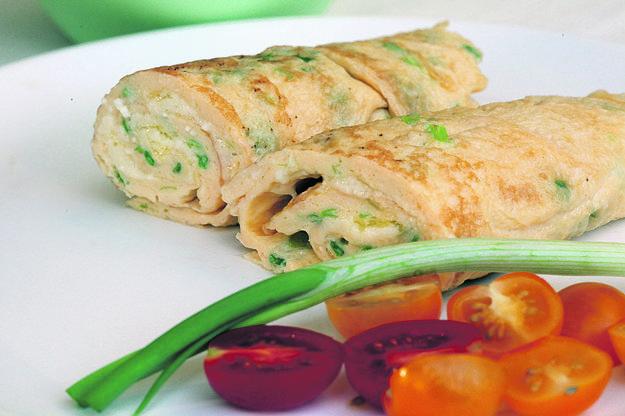 Omeleta s bryndzou