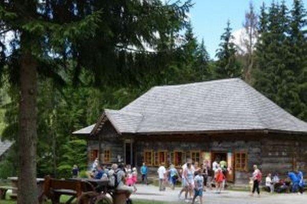 K najviac navštevovaným miestam patrí kysucký skanzen.