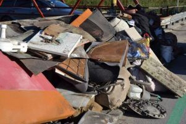 Cieľom nedávneho zberu bolo legálne sa zbaviť odpadov veľkých rozmerov.