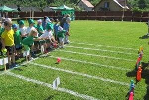 Detská olympiáda sa riadila pravidlami tej skutočnej.