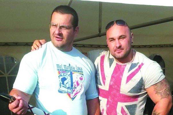 Igor Petrík (vľavo).