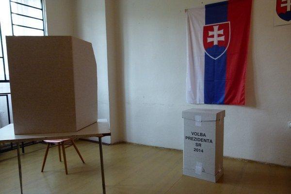 Záujem o voľby prezidenta sa v Levickom okrese v druhom kole zvýšil.