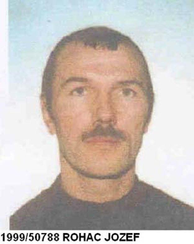Jozef Roháč na snímke slovenskej polície.