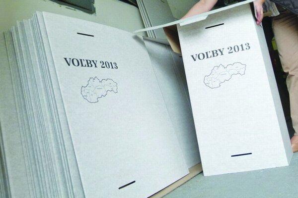 V Levickom okrese je otvorených 159 volebných miestností.