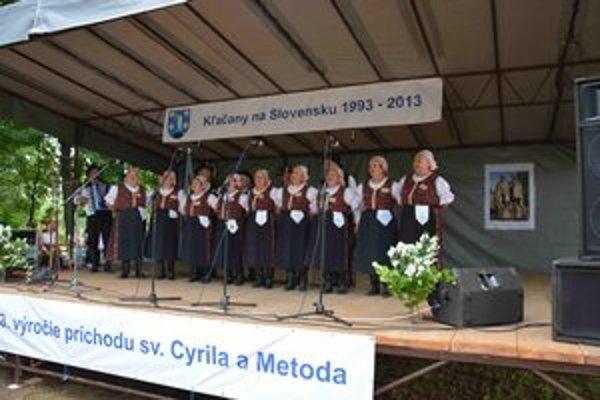 Po dvadsiatich rokoch sa stretnutie vrátilo do Čiernych Kľačian, kde sa v roku 1993 konalo prvý raz.