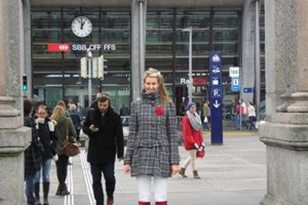 Judita Psotová z Hokoviec študuje na univerzite vo Švajčiarsku.