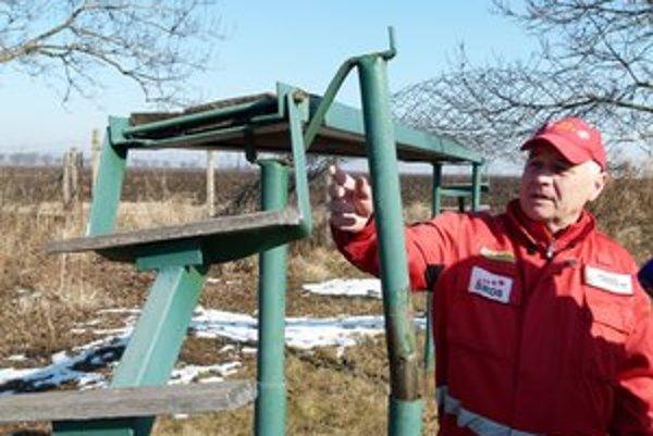 Kroky vandalov smerujú na cvičisko Špeciálnej kynologickej záchrannej služby Slovakia v Nýrovciach opakovane.