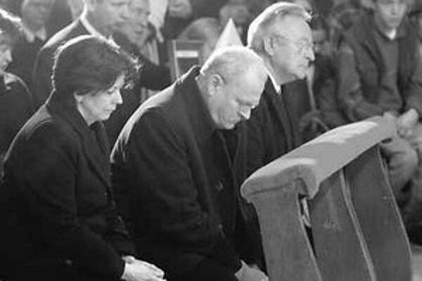Ivan Gašparovič riešil teologickú otázku.