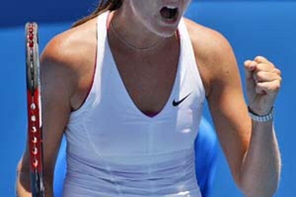 Daniela Hantuchová zdolala v 1. kole Američanku Kingovú.