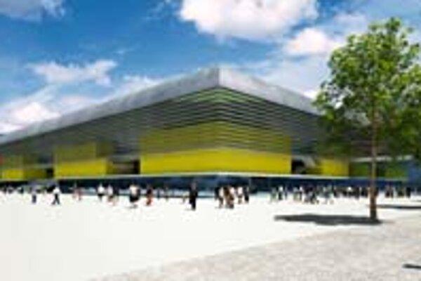 Nový športový komplex v Košiciach pojme 21tisíc divákov.