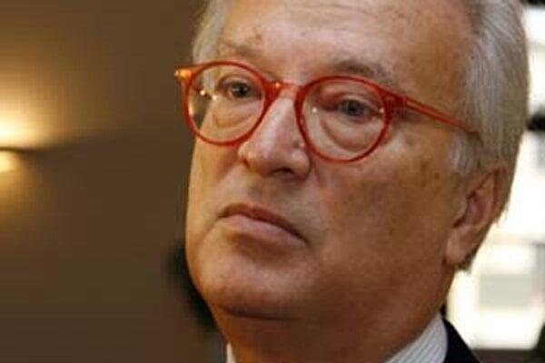Rakúsky europoslanec Hannes Swoboda