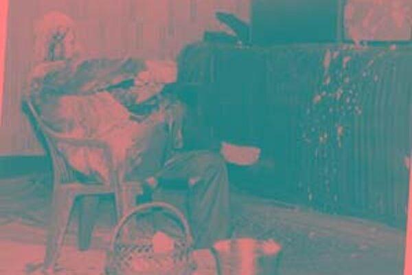 Milan Kozelka, záznam z akcie z roku 1992 ,ktorú uskutočnil v rámci festivalu alternatívneho umenia.