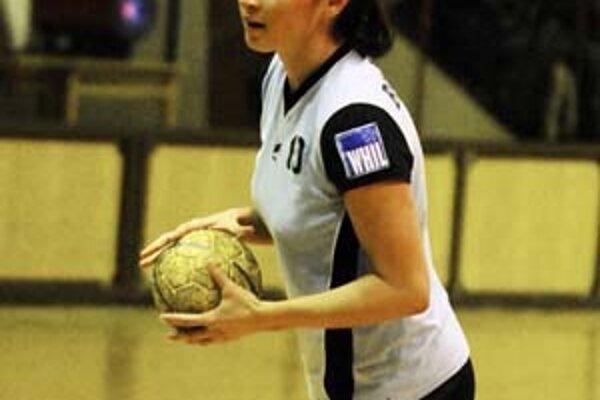Petra Beňušková nastrieľala Kikinde v prvom zápase päť gólov.