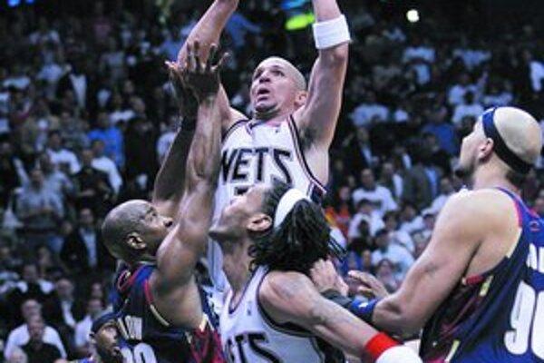 Jason Kidd, najväčšia prestupová hviezda v starom drese New Jersey.