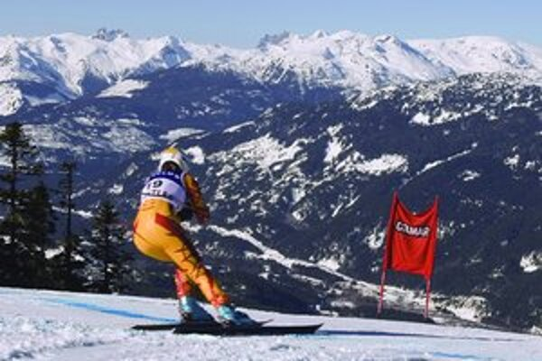 Aj Whistler Creekside, centrum alpských disciplín ZOH 2010, núka pôvabné scenérie. Zjazdári a zjazdárky sa o tom presvedčili v pretekoch Svetového pohára.