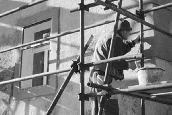 Všetky práce na obnove renesančného domu robili pomocou tradičných materiálov a postupov.