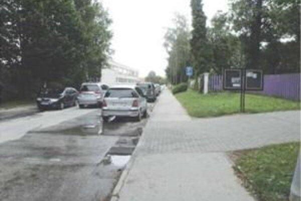 Na Brezovej ulici má vzniknúť 33 nových parkovacích miest.