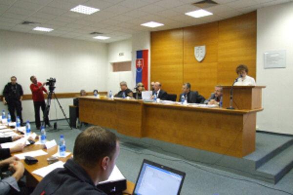Záber z rokovania mestských poslancov.