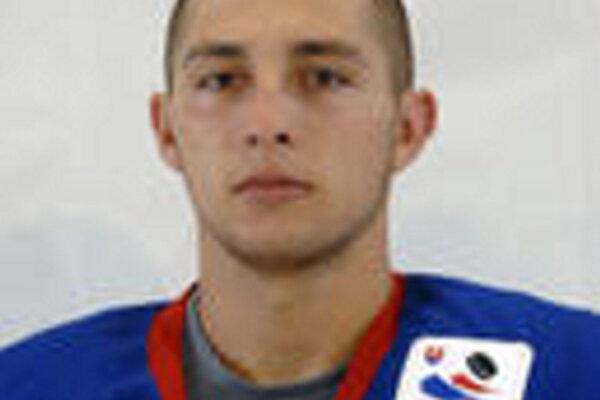 Henrich Jaborník, hokejový reprezentant SR do 20 rokov.