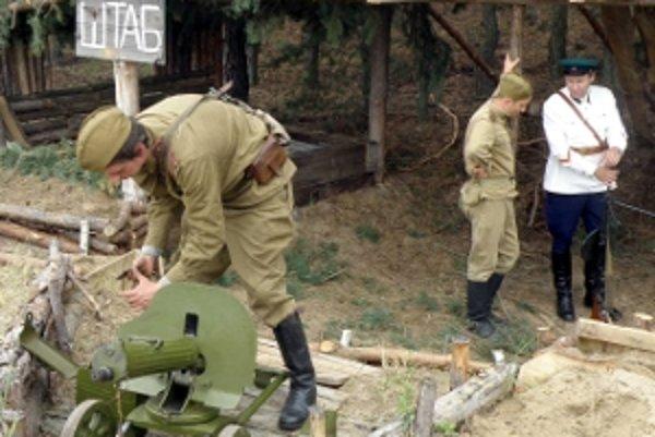 Ruský štáb, z ktorého sa riadili neľútostné boje.