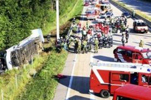 Najsilnejšou udalosťou minulého roku bola určite nehoda autobusu plného študentov so Senice v Rakúsku.