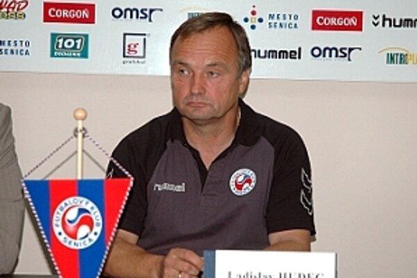Ladislav Hudec, už bývalý tréner FK Senica.
