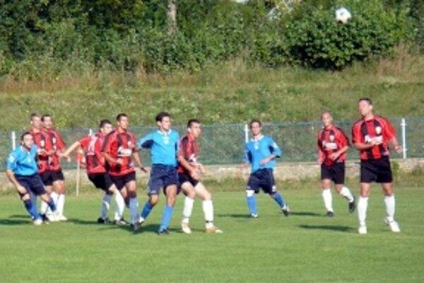 Ilustračné foto zo zápasu Iskry Holíč.