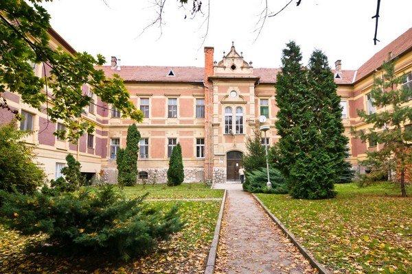 Nemocnica v Komárne.