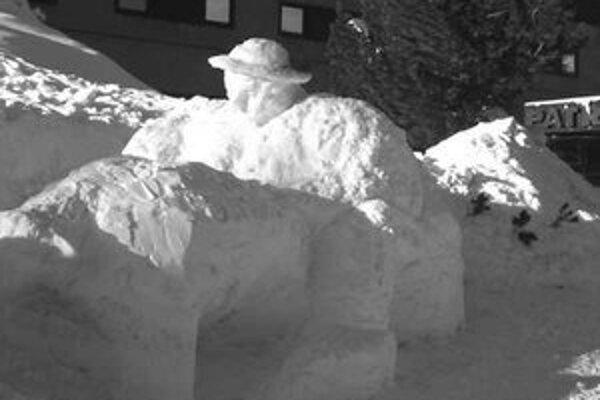 Snežný bača Lukáša Janošku.