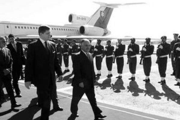Fico letel do Líbye vládnym špeciálom.