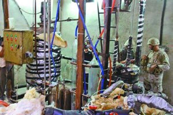 Takéto podozrivé laboratórium s chemickými látkami našli americké jednotky v Mosule ešte v roku 2005.