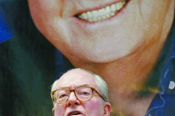 Jean Marie Le Pen to skúša v prezidentskom boji už piaty raz.