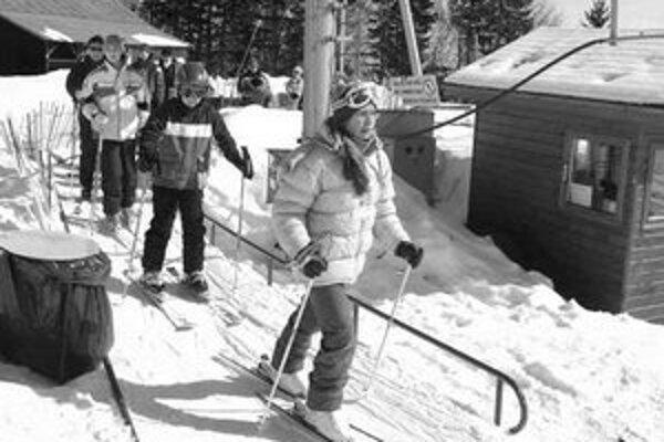 Pred rokom si lyžovačku deti užili.