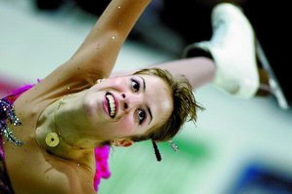 Talianka Carolina Kostnerová počas piatkovej voľnej jazdy, ktorá jej na ME v krasokorčuľovaní v Poľsku vyniesla nečakaný titul.