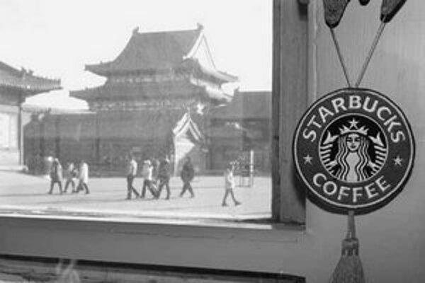 Americká kaviareň v Zakázanom meste.