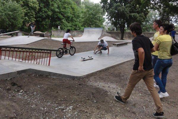 Nový skatepark otvoria v sobotu.