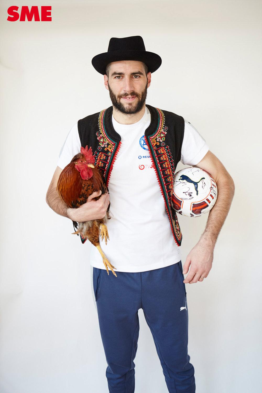 Brankár Novota pridal ku kohútovi aj loptu.