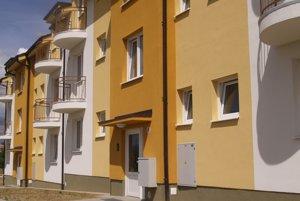 Nové bytovky budú mať onedlho svojich majiteľov.