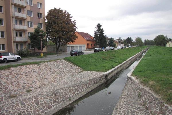 Potok Trnávka vo Vajslovej doline.