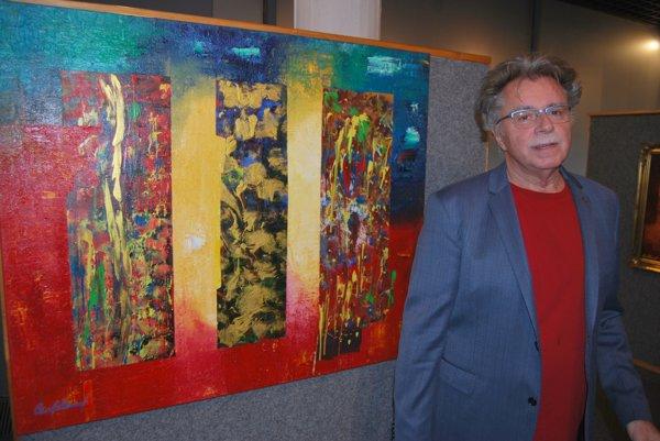 Hammelove obrazy vyžarujú pozitívnu energiu.