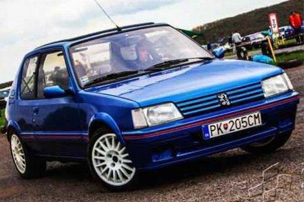 Zoltán Lovász na svojom vozidle Peugeot 205 obsadil vo svojej kategórii v D. Strehovej 1.miesto.