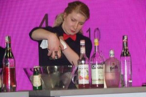 Lenka Kubovová počas súťaže.
