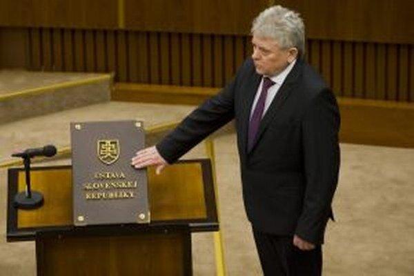 Ján Kvorka zložil poslanecký sľub na ustanovujúcej schôdzi NR SR.